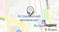 Park Inn Astrakhan на карте