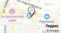 Авария на карте