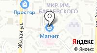 Магазин компьютерных аксессуаров на карте