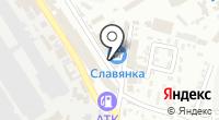 Малиновка на карте