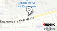 Василёк на карте