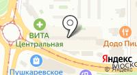 Лед Лайн на карте