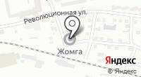 Жомга на карте