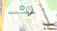 Благовещенский собор Казанского Кремля на карте