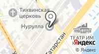 Нурулла на карте