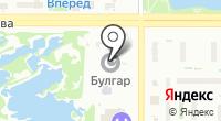 Булгар на карте