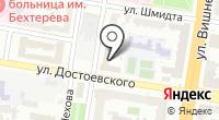 Петербургская на карте