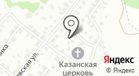 Церковь Казанской иконы Божией Матери на карте