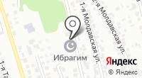 Ибрагим на карте