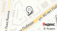 Магазин зоотоваров на карте
