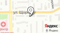 Рашель на карте