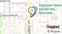 Усы на карте