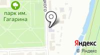 Технолес на карте