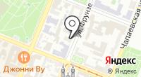 Афина-Тур на карте