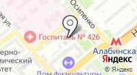 Миларина на карте