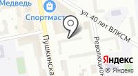 Нотариус Уткин А.А. на карте