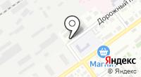 Яик на карте