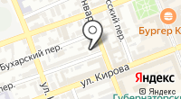 Турне-Оренбург на карте