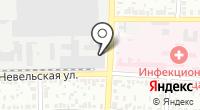 Оренбургский радиатор на карте