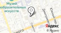 Комитет по делам архивов Оренбургской области на карте