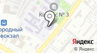 Оренбургский университет на карте