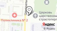 Иконная лавка на Центральной на карте