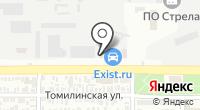 Центр бизнеса на карте