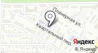 Средняя общеобразовательная школа №47 на карте
