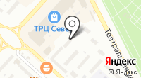 Магазин элементов питания на карте