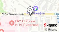 Крепёж на карте