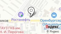 Автомойка на Монтажников на карте