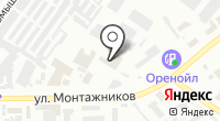Дэу Моторс Оренбург на карте