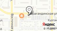 Магазин строительных материалов на Карагандинской на карте
