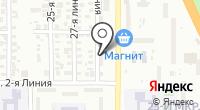 Азарт-тревел на карте