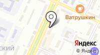 Ак-кайын на карте
