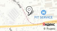 Профкрас на карте