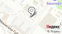 Строймаш-Башкортостан на карте