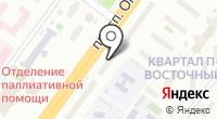 Магазин трикотажных изделий и пряжи на карте