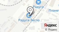 Розет на карте
