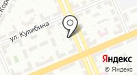 Сеть салонов компьютерных услуг на карте