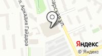 Пермские таксомоторные линии на карте