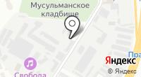 Уралстрой на карте