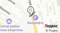 Грузинский лаваш на карте
