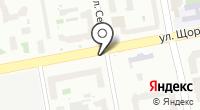 Шиномонтажная мастерская на ул. Щорса на карте