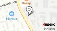 Затейница на карте