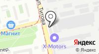 Кватро на карте