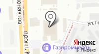 Екатеринбургское такси на карте