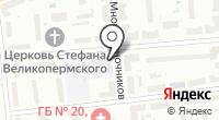 ЕТХМ на карте