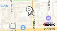 Электроник на карте