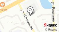 Автостоянка на ул. 6-й микрорайон на карте